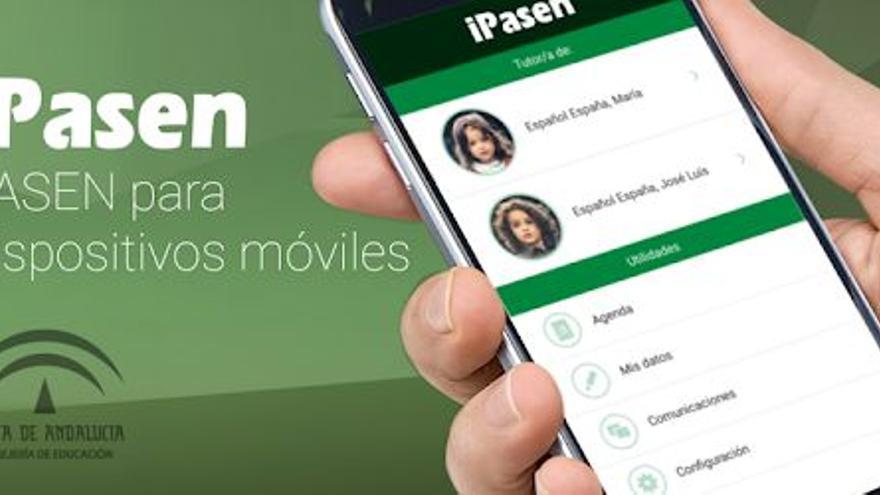 Educación actualiza la aplicación  iPasen