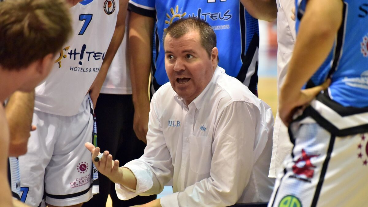 Vicente González, entrenador del Caja Rural de Zamora