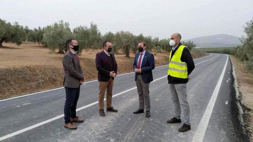 La Diputación de Córdoba invierte 334.000 euros en mejoras de la carretera de Albendín