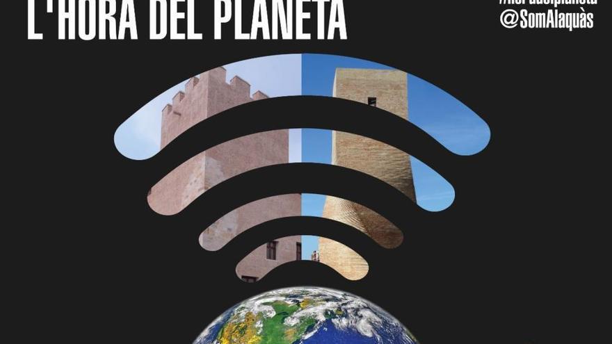 """Alaquàs se suma un año más a la """"Hora del Planeta"""""""
