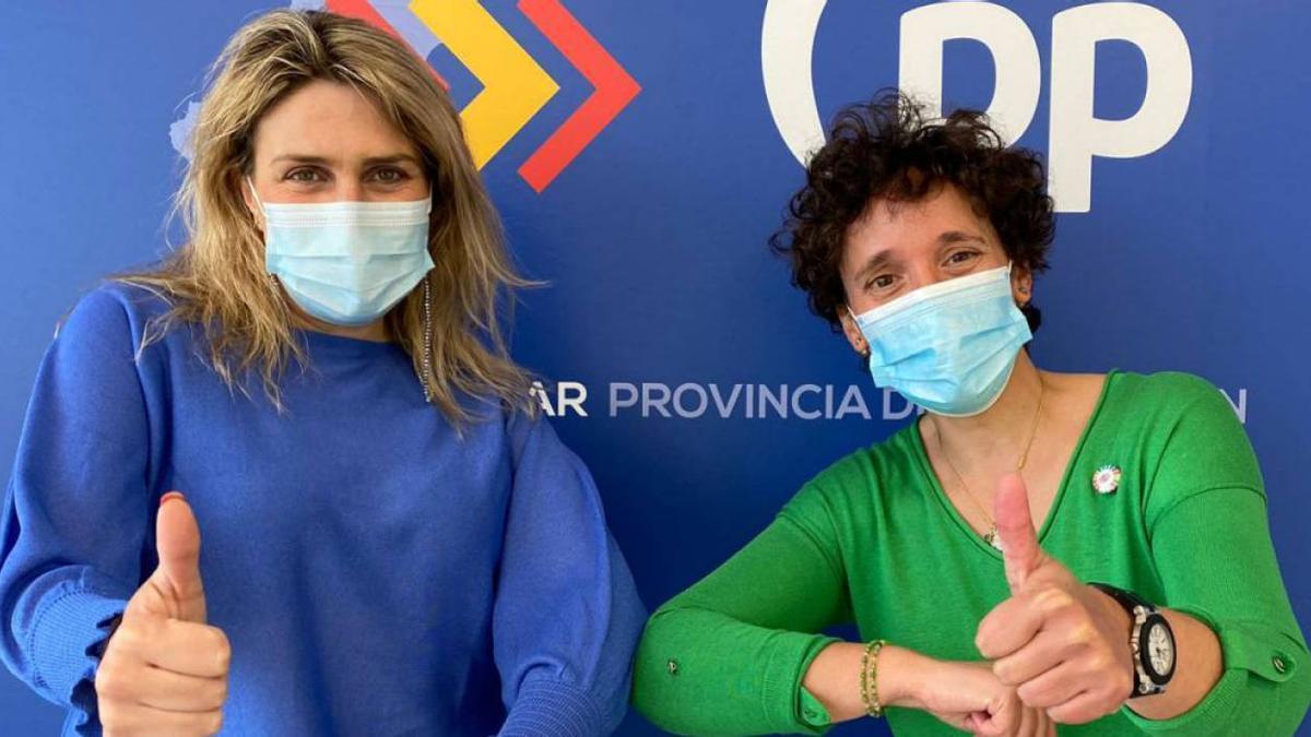 Marta Barrachina y Carmina Ballester