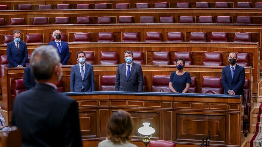 Las ausencias marcan otra vez el acto anual en el Congreso por las víctimas del terrorismo
