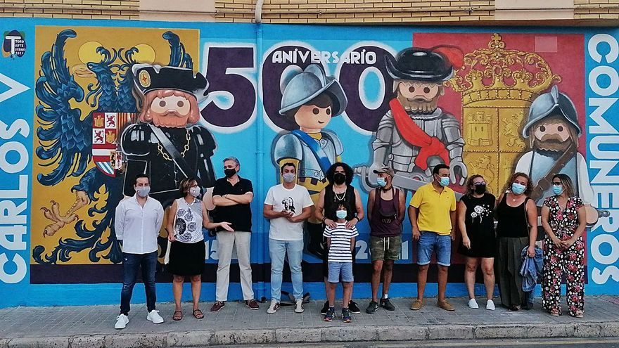 La lección de historia de Toro Arte Urbano