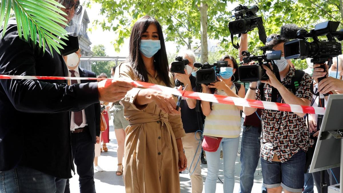 Acto de apertura oficial de las terrazas en Madrid
