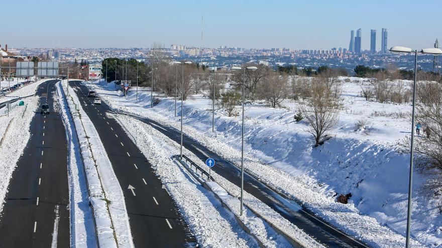 El frío retrasa la vuelta a la normalidad tras el paso de Filomena