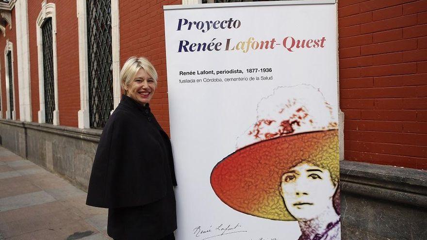 Aremehisa denuncia que el Ayuntamiento de Córdoba frena la exhumación de la periodista Renée Lafont