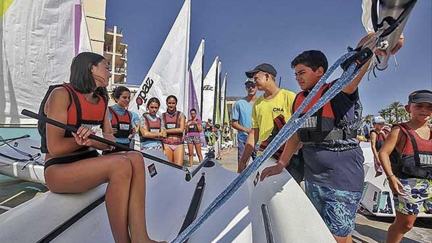 Aventuras marinas en s'Arenal