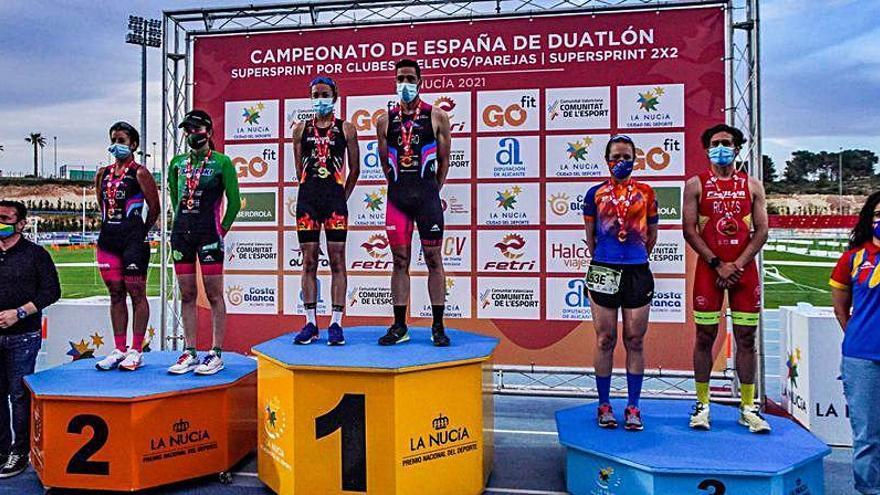 La Nucía coronó a los primeros campeones de España de Relevos Superesprint