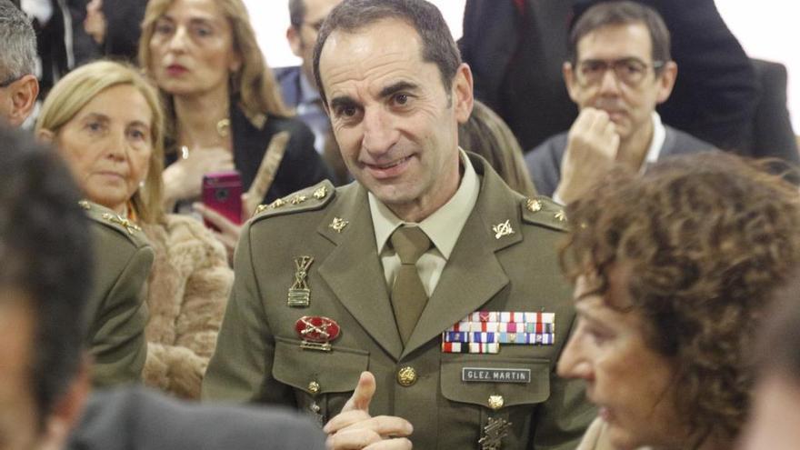 El coronel Vicente González Martín.