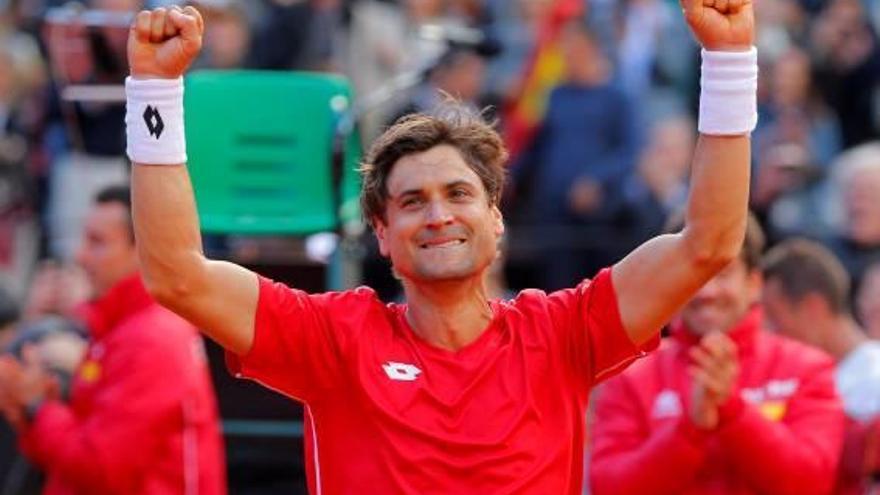 Espanya, a les semifinals de la Davis