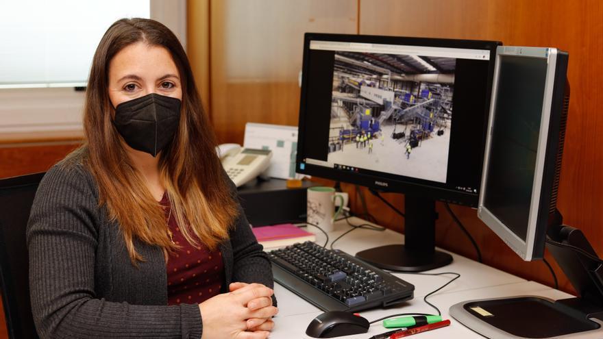 """Montserrat Ruiz, técnica de medio ambiente: """"Este año, el reto es la implantación de la recogida de materia orgánica en Ibiza"""""""
