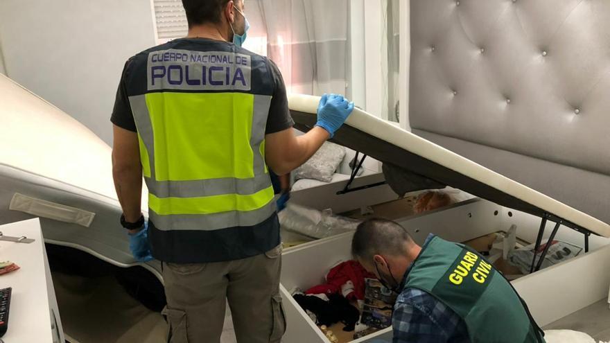43 detenidos en Alicante y San Vicente en una operación antidroga