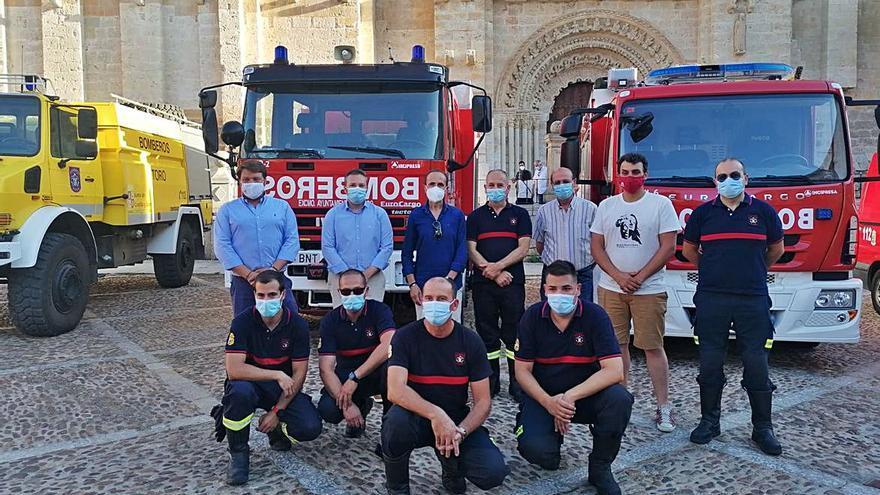 Los bomberos de Toro honran a su patrón, San Lorenzo