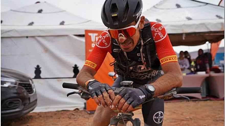 Guillem Muñoz és tercer a la Titan abans de l'etapa final