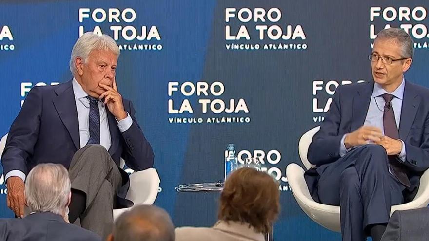 """Felipe González receta """"coordinación"""" y entrar en """"una dinámica de pactos"""" para la salida de la crisis"""
