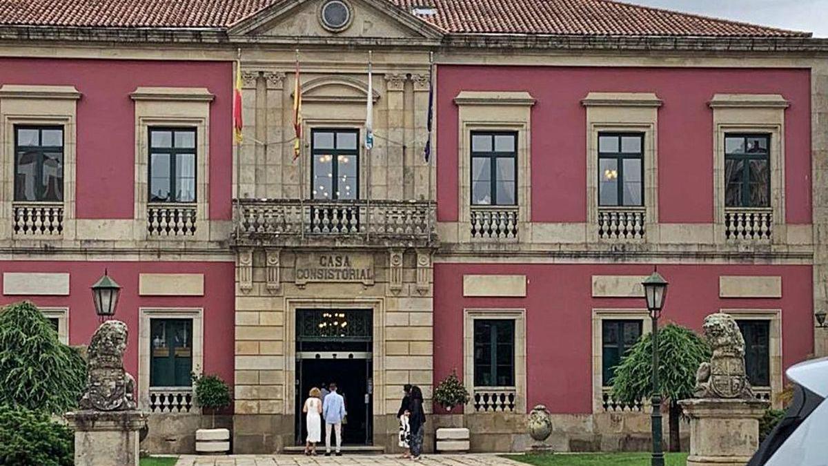 El edificio del Ayuntamiento. // FdV
