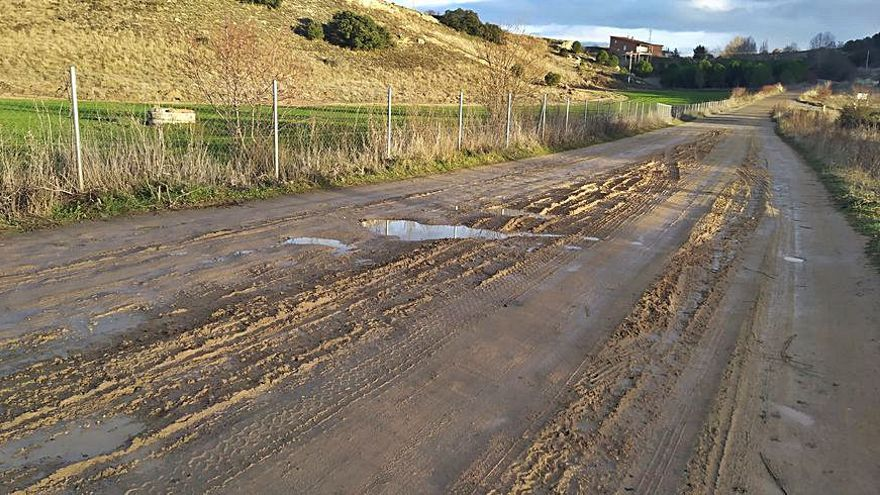 Vecinos del camino de La Lobata piden al Ayuntamiento de Zamora el arreglo de la zona