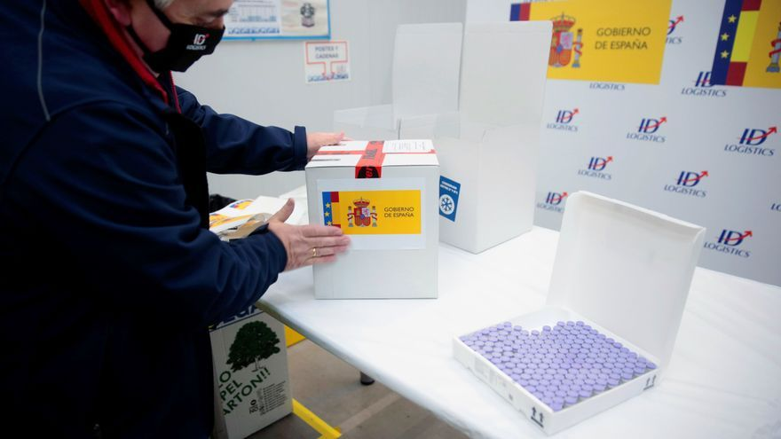 Las primeras 500 vacunas llegarán a Galicia custodiadas por la Guardia Civil