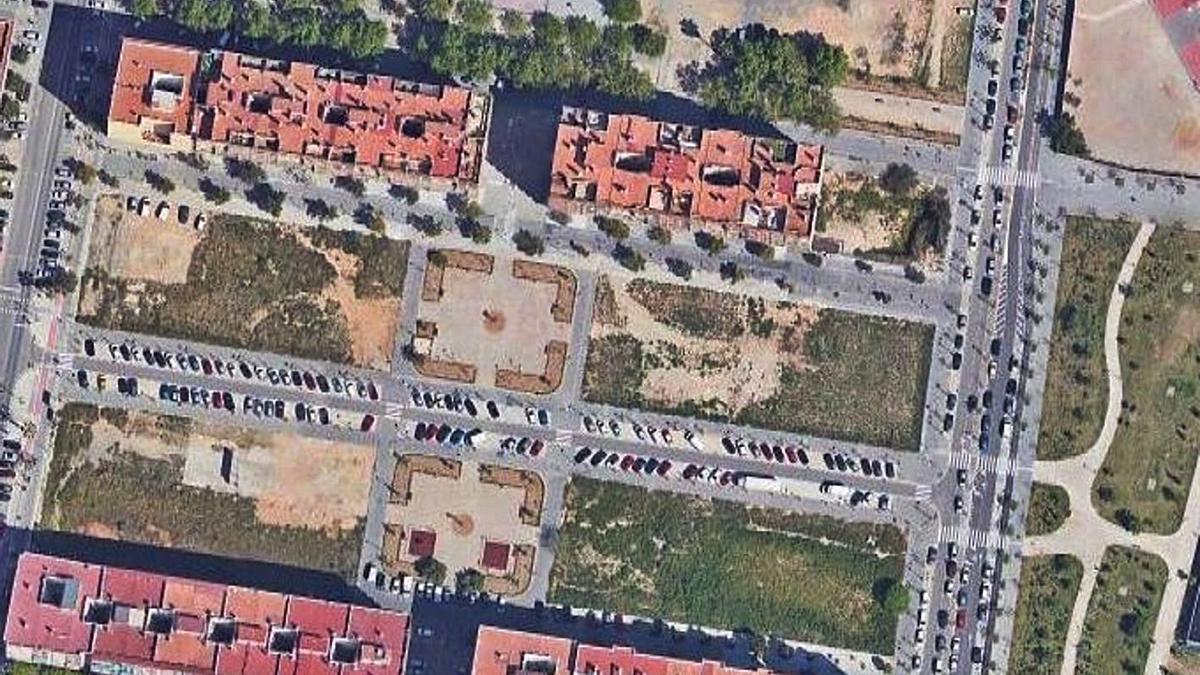 Ámbito donde se construirá el nuevo colegio entre Bernat Descoll e Isla Cabrera | LEVANTE-EMV