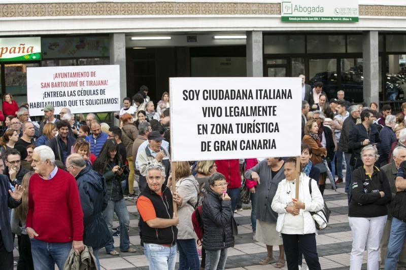 29.03.19. Las Palmas de Gran Canaria. Concentración ciudadana     29/03/2019   Fotógrafo: Quique Curbelo