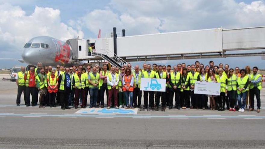Flughafen Mallorca führt Fast Lane für Gepäckwagen ein