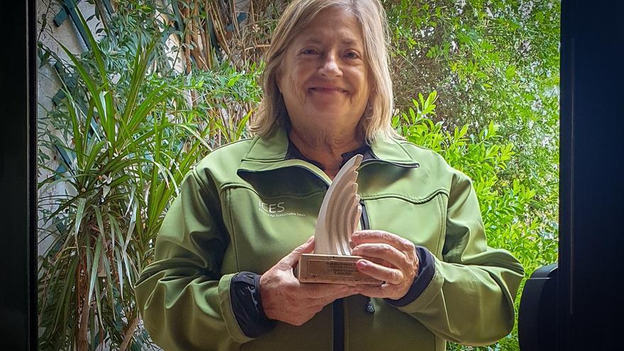 La investigadora del Imedea Beatriz Morales-Nin recibe el galardón Océanos 2020