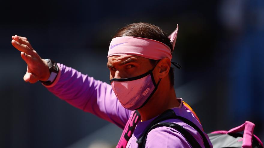 Horario y dónde ver hoy a Nadal contra Zverev en Madrid