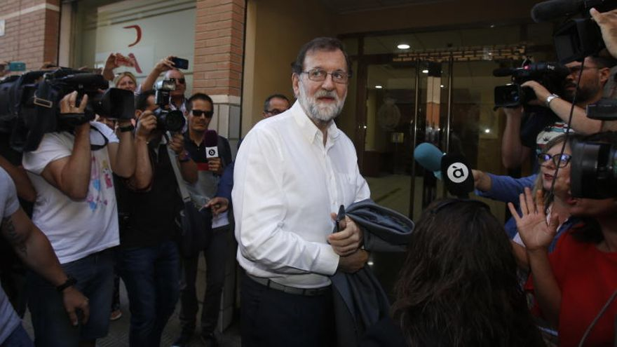 Rajoy consigue plaza como registrador en Madrid