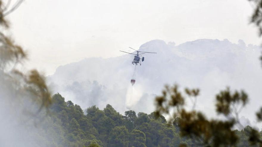 El incendio de Yeste podría calcinar unas 7.000 hectáreas
