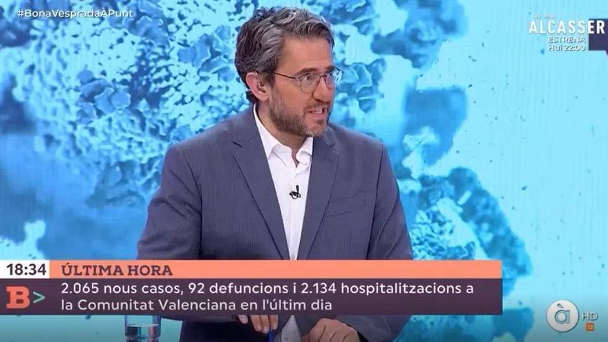À Punt niega que Màxim Huerta abandone 'Bona vesprada'