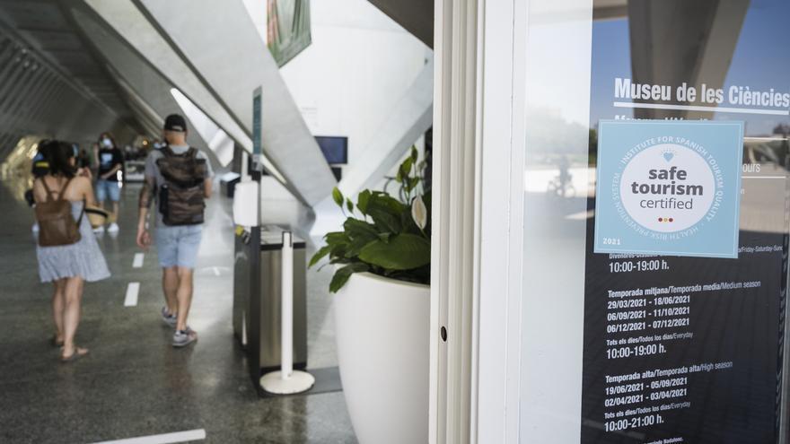 La Ciutat de les Arts i les Ciències renueva el sello de calidad 'Safe Tourism Certified'