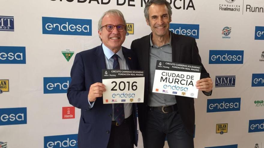 La Carrera Solidaria Fundación del Real Madrid llega a Murcia