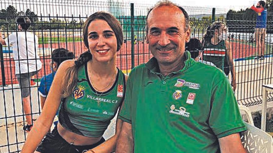 Carlos Ruiz: «Daniela García no tiene desgaste, tiene un ritmo ideal para el 800 y el mediofondo»