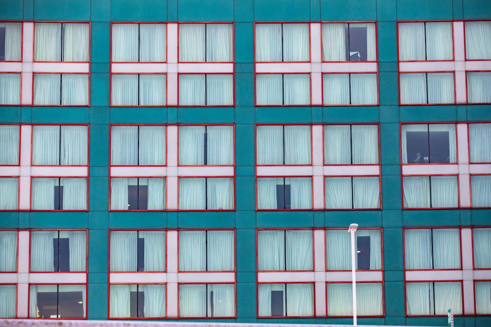 Hotel para infectados en Toronto.