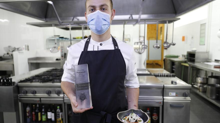 La receta de salmón de Pablo García Llorente,  el joven más prometedor de la cocina española