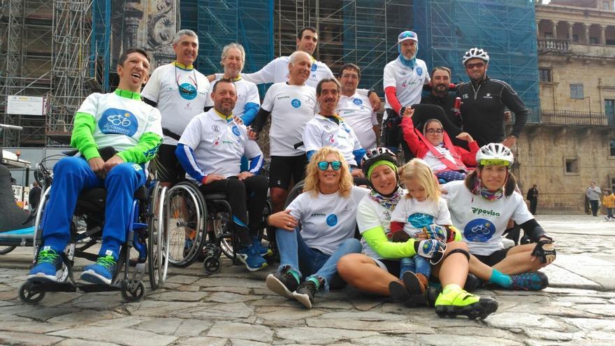 Proponen a la asociación viguesa Discamino para el Princesa de Asturias de la Concordia