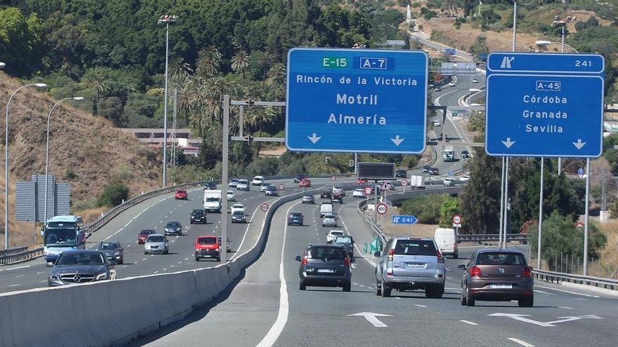 Málaga es la cuarta provincia con más afectados por accidente de tráfico y la tercera en secuelas