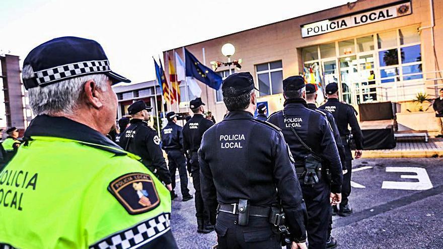 Jefatura de la Policía Local de Torrevieja. | TONY SEVILLA