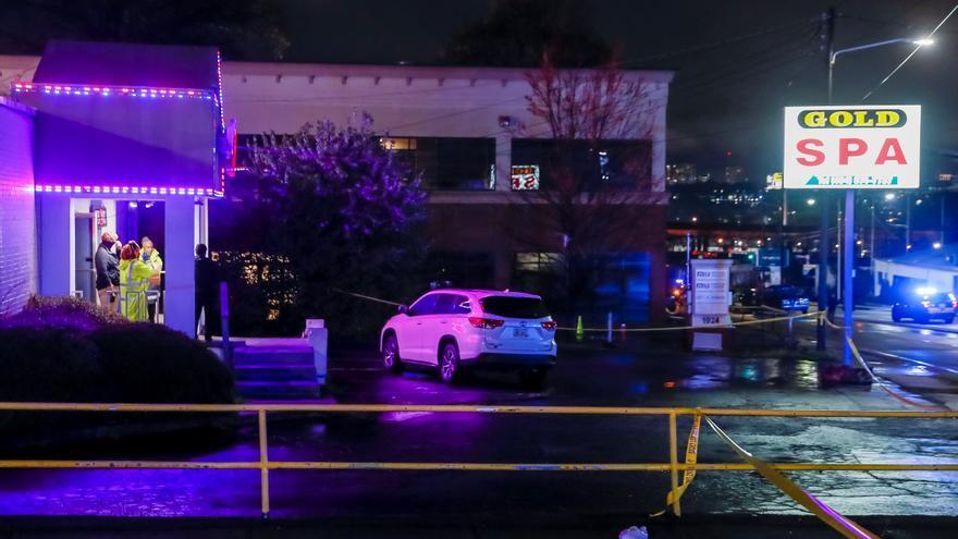 Al menos ocho muertos en tres tiroteos en salones de masaje asiáticos en Atlanta