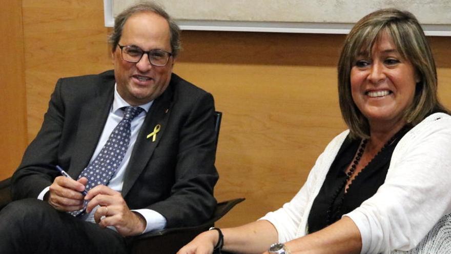 Núria Marín obre la porta a un pacte entre PSC i JxCat a la Generalitat