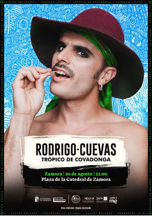 """Cartel Rodrigo-Cuevas """"Trópico de Covadonga"""""""