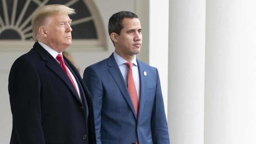 El Gobierno de EEUU reitera su apoyo a Guaidó