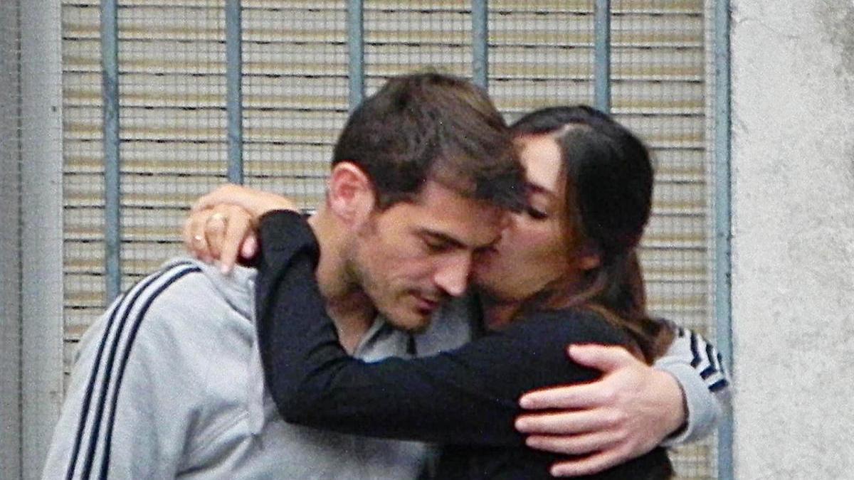 Iker Casillas y Sara Carbonero en un foto de archivo
