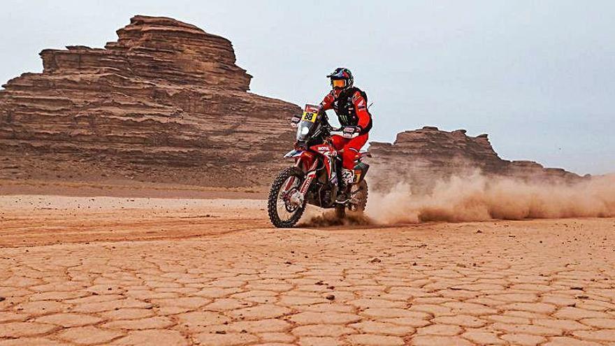 Joan Barreda abandona el Rally Dakar