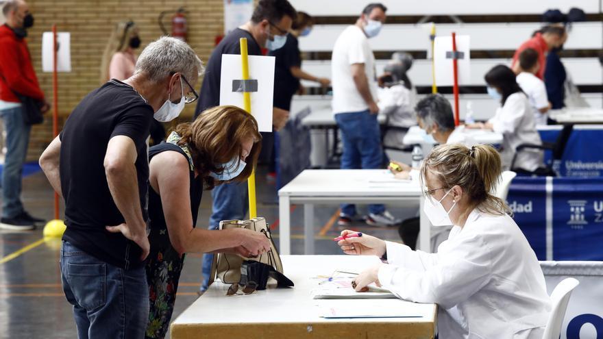 Unos 58.000 aragoneses recibirán la segunda dosis de Janssen