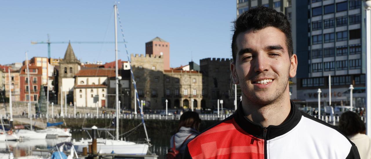 Alejandro Rubiera, en su etapa en el Gijón Basket