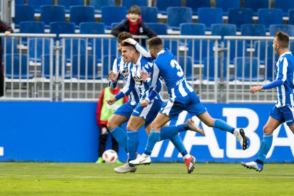 El Fabril le remonta al Castilla y gana 4-3