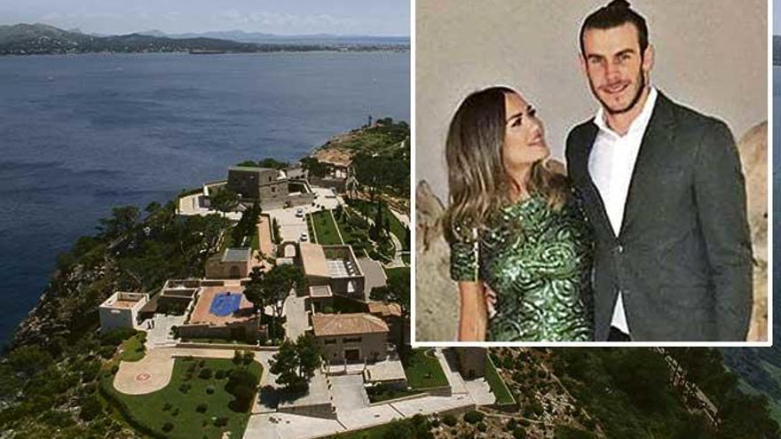 Gareth Bale, tres días  de boda en Mallorca