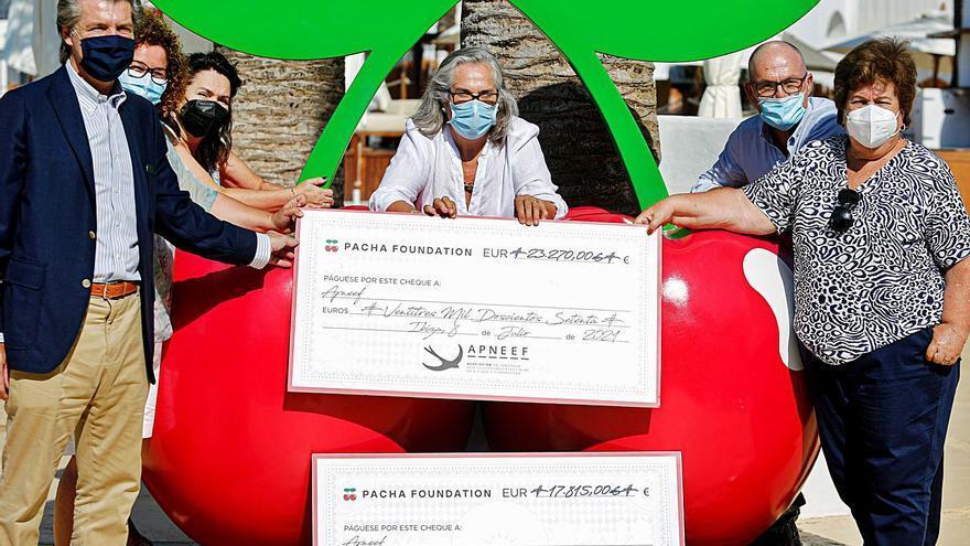 Un calendario solidario de 23.000 euros