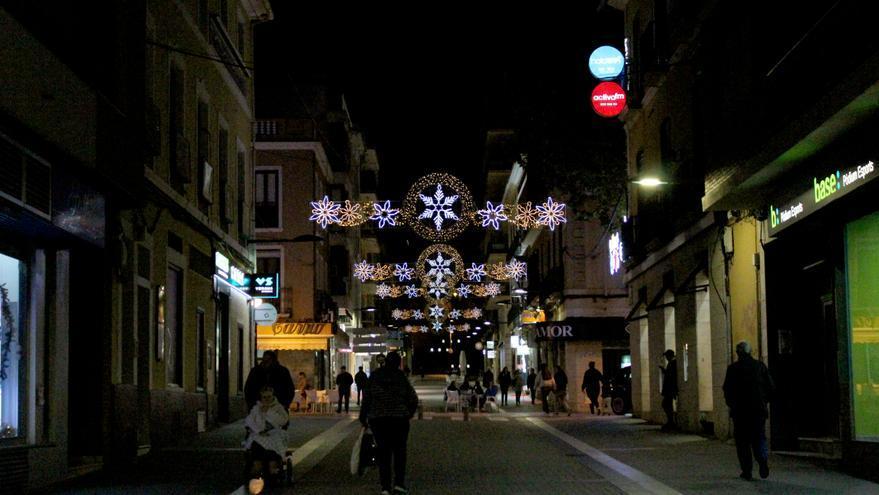 Diecinueve puntos más de luces navideñas en Dénia